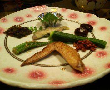 梨木館 夕飯前菜