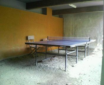 梨木館 卓球台