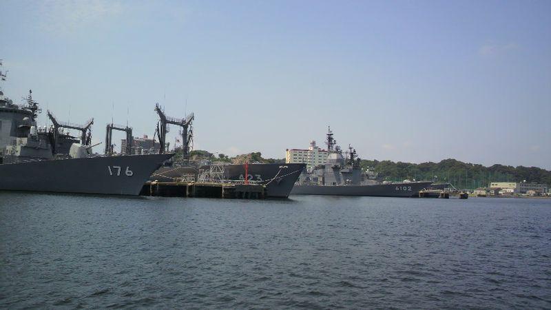 横須賀 海軍基地1